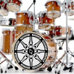 Vinyl Bass Drum Decals cut and supplied to your requirements