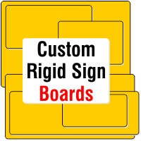 Click to Buy Custom Design Sign Boards