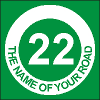 Identify your Wheelie and Recycle Bins with your House number and street name
